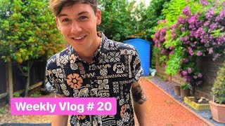 Weekly Vlog #20 | Pride Shopping in Primark, Diet & Joining a Gym!