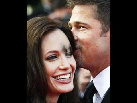 Momentos de Angelina Jolie e Brad Pitt
