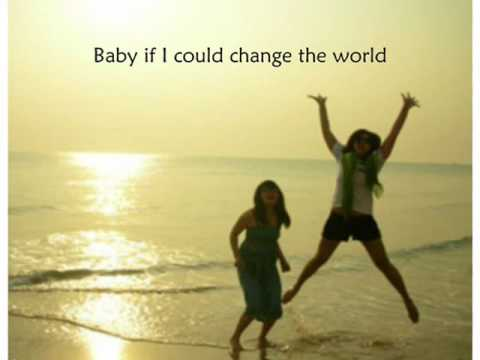 Change the WorLd - Eric Clapton with Lyrics