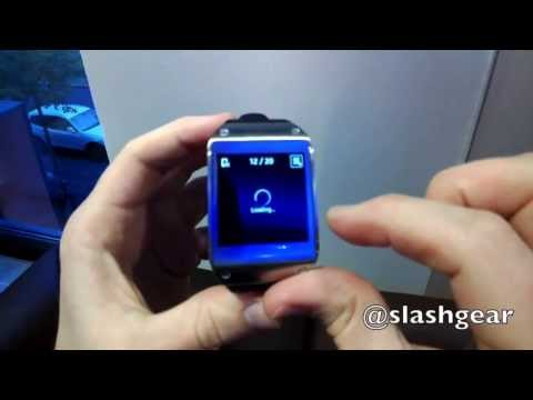 Samsung Galaxy Gear smartwatch hands-on