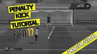 FIFA 17 PENALTY TUTORIAL / HOW THE NEW PENALTIES WORK / NEW AIMING SYSTEM