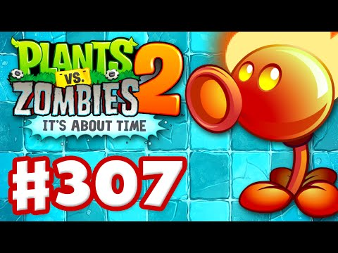 Plants vs. Zombies 2: Its About Time Gameplay Walkthrough Part 307 Fire Peashooter iOS