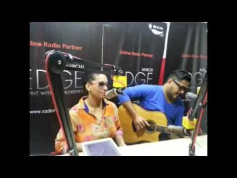 98.3 FM Radio Mirchi Mumbai | Dhruv & Kalpana Patowary with Rj Sukhi