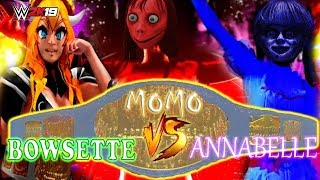 BOWSETTE vs ANNABELLE vs MOMO FNF SUBORDINATE CORRUPTION PPVP1JUMPSCARE CHAMPIONSHIP MATCH!
