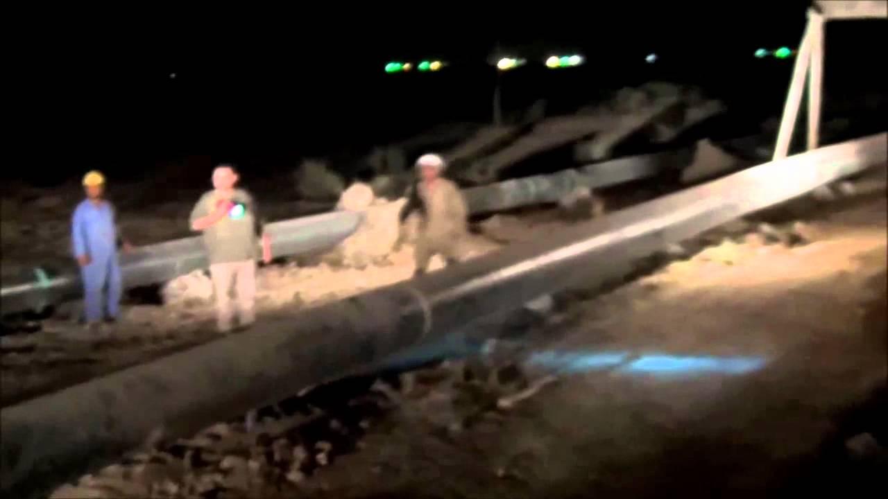 Pipeline River Crossing River Crossing / Iraq.mp4