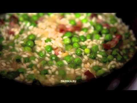Рис с зелёным горошком (Risi e bisi)