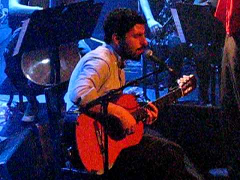 Jose Gonzalez - Crosses live @AB, Brussels