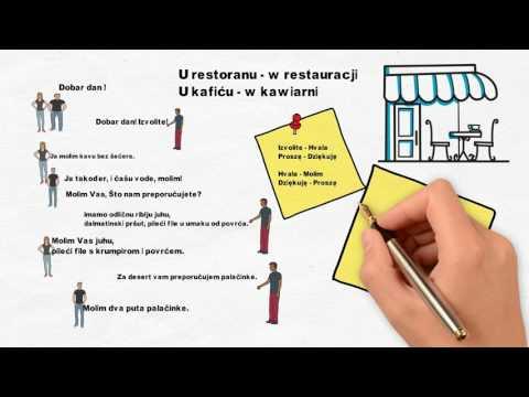 Chorwacja Cafe - Nauka Języka Chorwackiego - Lekcja3