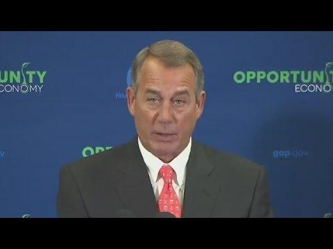 Boehner: Obama's with 'anarchists' on Keys...