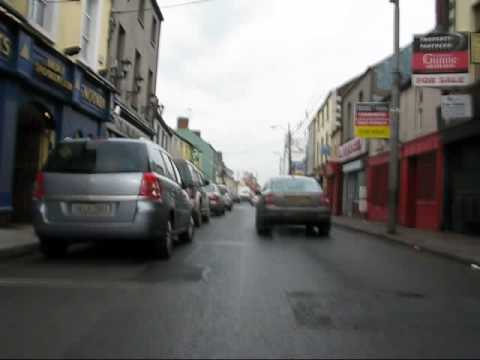 Dundalk to Carlingford  Ireland in 2 mins by Push-bike, Time lapsed