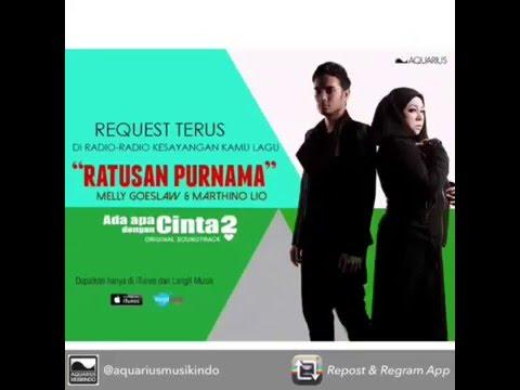 download lagu Melly Goeslaw  - Ratusan Purnama Feat Marthino Lio  OST AADC2 gratis