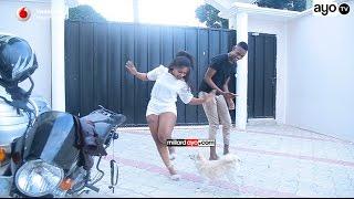 Behind the Scene: Linah hatamsahau huyu Mbwa wakiwa Location