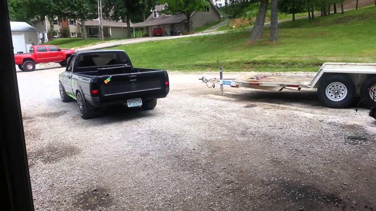 1uz toyota drift truck built by outkast kustoms youtube. Black Bedroom Furniture Sets. Home Design Ideas