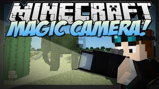 Minecraft | MAGIC CAMERA! (Freeze Time & Take Beautiful Pictures!) | Mod Showcase [1.6.4]