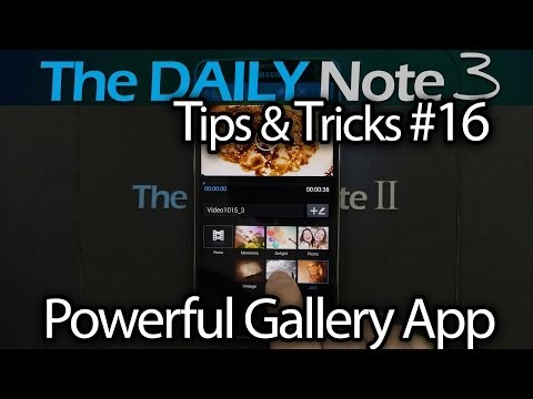 Samsung Galaxy Note 3 Tips & Tricks Episode 16: New Galaxy App. Jam Packed With New Features!
