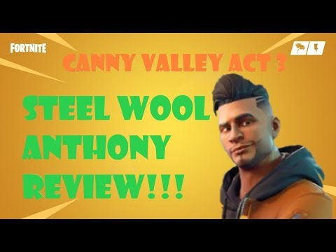 Steel Wool Anthony Review! Fortnite Save The World
