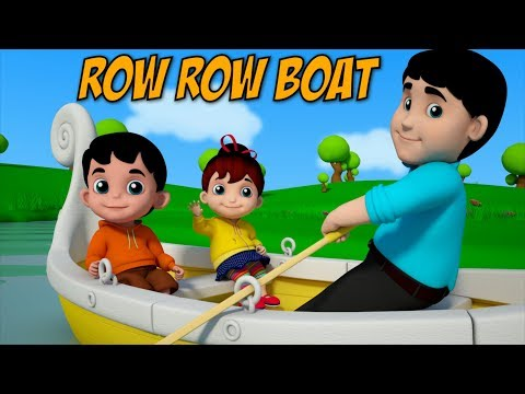 Row Row Row Your Boat | Videos For Kids | Nursery Rhymes | Kid Songs