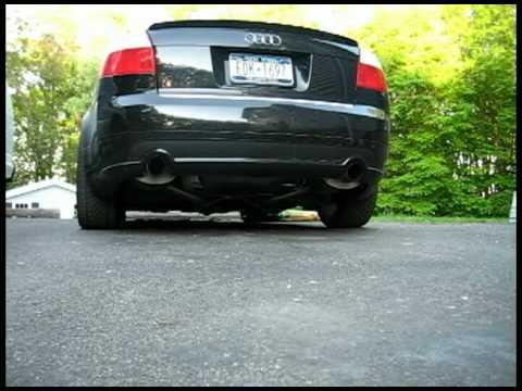 Audi B6 A4 Ultrasport 1.8T DeCorsa Exhaust w/ 3