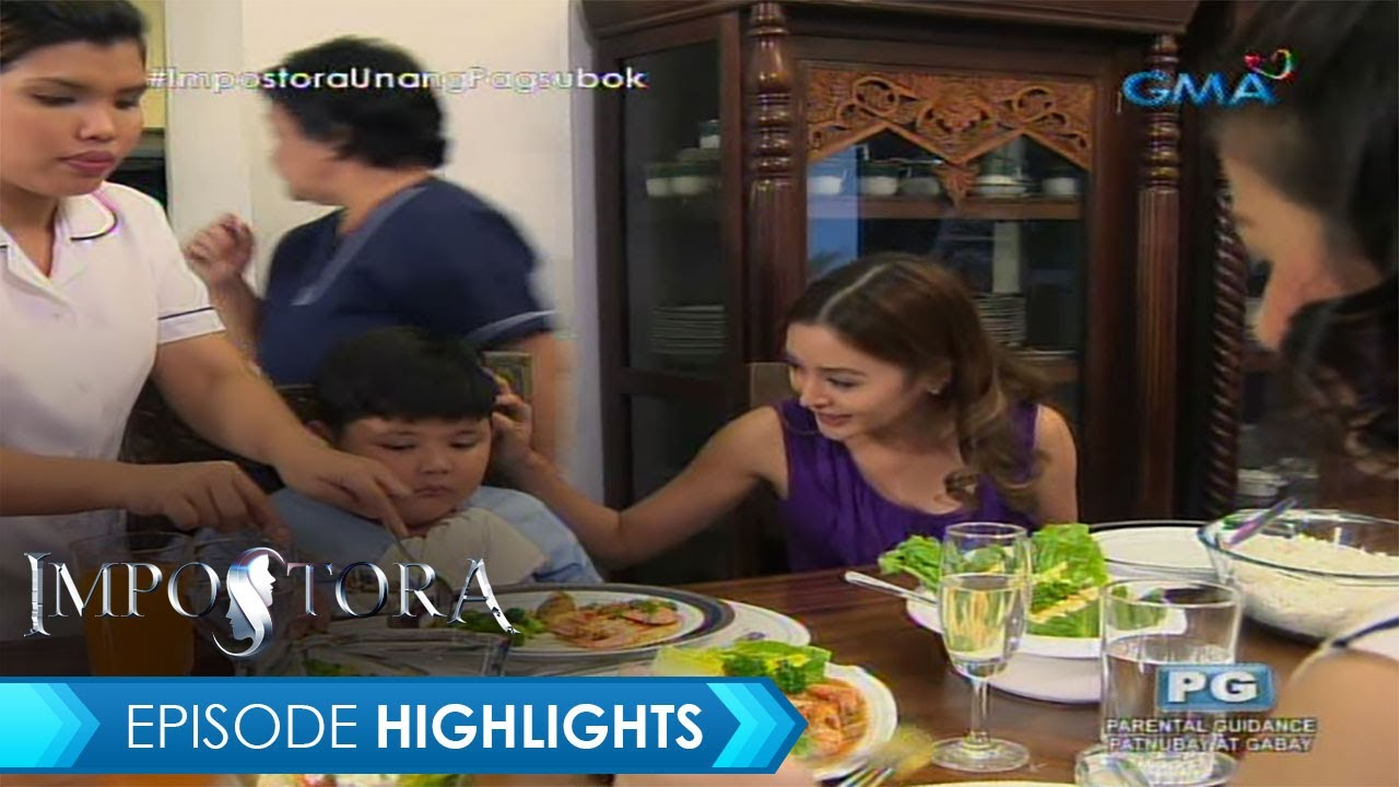 Impostora: Stop acting like a mother, Rosette!