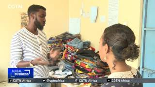 Kenyan entrepreneur upcycles old clothes into functional bags