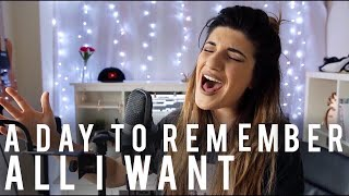 A Day to Remember - All I Want | Christina Rotondo Cover