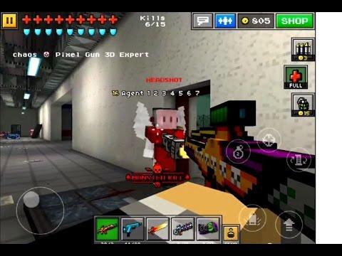 Pixel Gun 3d - Hellraiser Up2 Gameplay!!! video