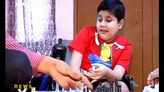 Good News: Physically challenged boy invents chess game for 6 people - NewsX