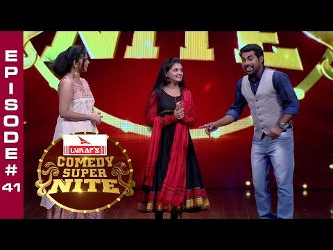 Comedy Super Nite With Saranya Mohan   - Episode#41