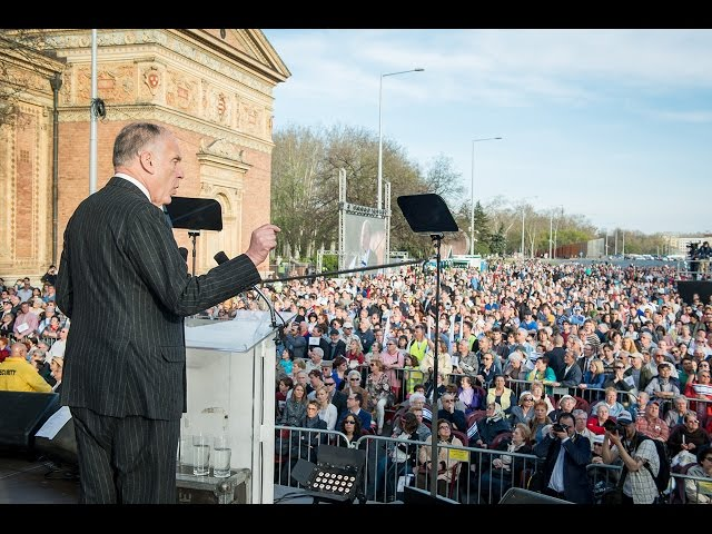 WJC President Ronald S. Lauder @ Budapest March of the Living