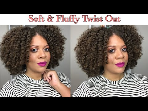 Super Soft + Fluffy Twist Out using Camille Rose Naturals | Natural Hair Styles thumbnail