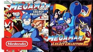 Mega Man Legacy Collection 1 + 2 Trailer - Nintendo Switch