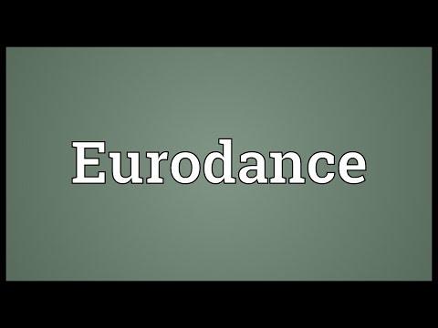 Header of Eurodance