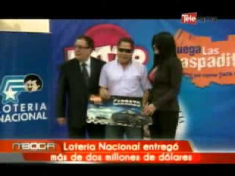 Lotería Nacional entregó más de dos millones de dólares