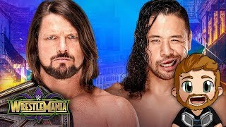 WWE WRESTLEMANIA 34 (2018) LIVE STREAM LIVE REACTIONS WATCH PARTY