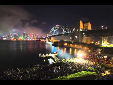 New Year's Eve Panning Time-lapses Sydney 2014-15