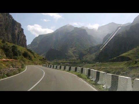 Путешествие по Военно-грузинской дороге (Дарьяльское ущелье)