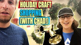 Holiday Craft Shopping (with Chad!) || Mayim Bialik