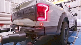 2017 Ford RAPTOR's Dual Exhaust Technology