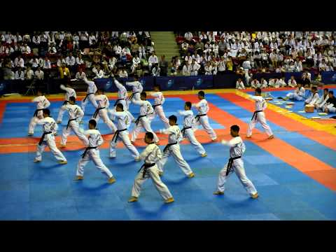 2013 KOREA CHINA TAEKWONDO SHOW (Edit by 陳佾楷) Image 1