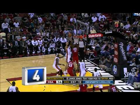 Miami Heat LeBron James Dwayne Wade Chris Bosch Best TOP 10 Plays of 2011