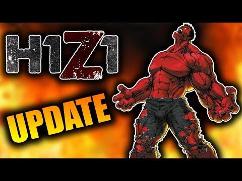 Huge NEW Update on H1Z1 + NEW GAMEMODE! (KOTK Patch Notes)