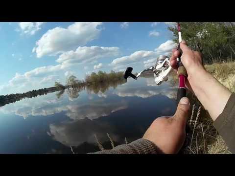 ловля на спиннинг на днепре с берега