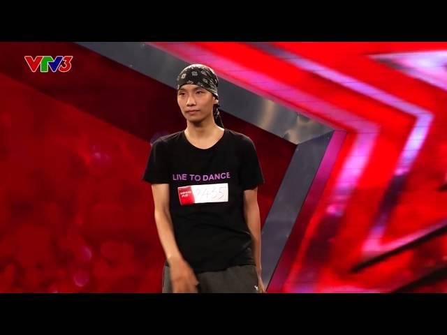 """Vietnam's Got Talent 2014 - TẬP 09 - Poping """"Sắc Màu"""" - Nguyễn Bùi Nam Khuê"""