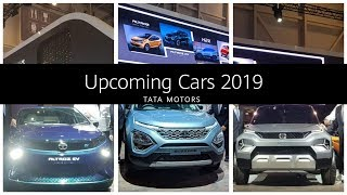 Upcoming Cars in India 2019 - Tata | Altroz, Buzzard, H2X, Tata Tiago Facelift