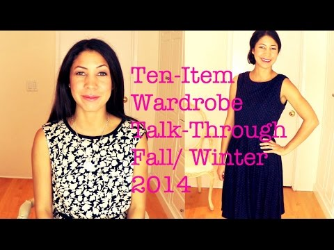 Ten-Item Wardrobe Talk-Through Fall Winter 2014