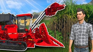 GROWING SUGARCANE! - Farming Simulator 19 Multiplayer Gameplay