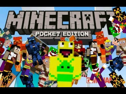 How to change skins on Minecraft PE   Android