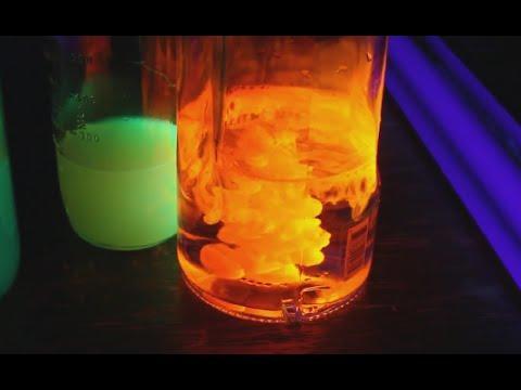Glow in the Dark Halloween Lava Lamp