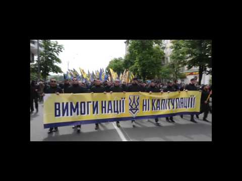 Azov Battalion protests against Donbas elections