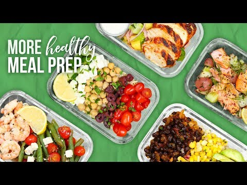 5 MORE Healthy Meal Prep Ideas | New Year 2018